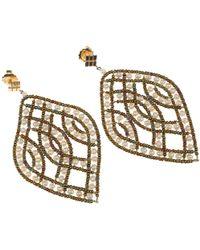 Ziio Earrings For Women - White
