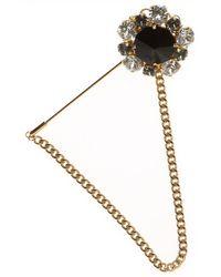 Dolce & Gabbana Broche et Badge Femme Pas cher en Soldes Outlet - Métallisé