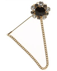 Dolce & Gabbana Brooch and Pin for Women In Outlet - Metallizzato