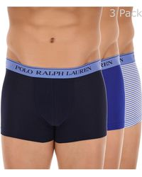 Ralph Lauren Calzoncillo Boxer para Hombre - Azul