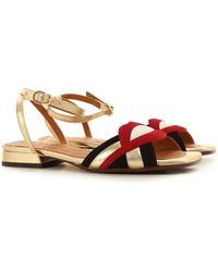 Chie Mihara Sandals On Sale In Outlet - Metallic