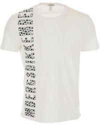 Bikkembergs T-Shirt Uomo In Saldo - Bianco