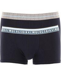 Bikkembergs Boxer Briefs For Men - Blue