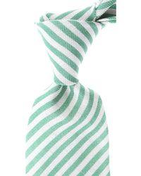 Kiton Cravates Pas cher en Soldes - Vert