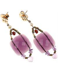 Ziio Earrings For Women - Purple