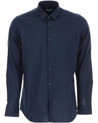 Caliban Hemde für Herren - Blau