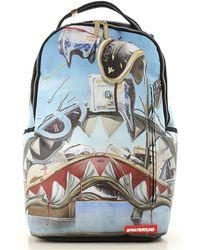 Sprayground Rucksack für Herren Günstig im Sale - Blau