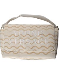 Versace Baby Girls Handbag In Saldo - Bianco