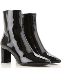 Saint Laurent Boots For Women - Black