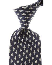 Balmain Cravates Pas cher en Soldes - Bleu