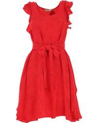 Twin Set Vestido de Mujer - Rojo