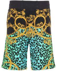 Versace Jeans Couture Shorts For Men - Black