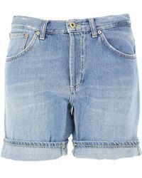 Dondup Shorts para Mujer - Azul