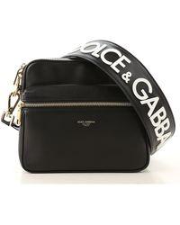 Dolce & Gabbana Besace Homme Pas cher en Soldes - Noir