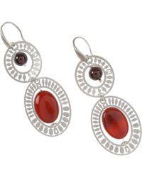 Ziio Earrings For Women - Red
