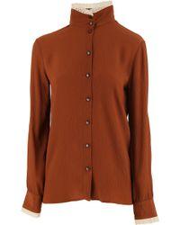 Stella Jean - Camisa de Mujer Baratos en Rebajas - Lyst