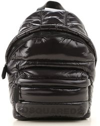 DSquared² Backpack On Sale In Outlet - Black