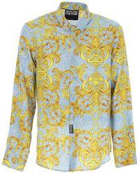 Versace Jeans Couture Shirt For Men - Multicolour