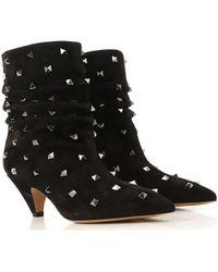 Valentino Botas de Mujer - Negro