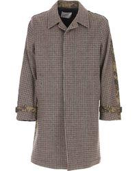 Dondup Men's Coat On Sale - Brown