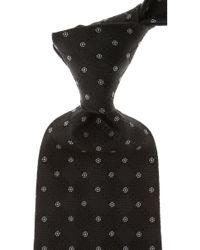 Balmain Cravates Pas cher en Soldes - Noir