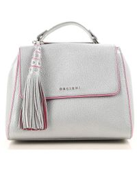 Orciani - Top Handle Handbag - Lyst