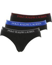 Ralph Lauren Slip Homme - Noir