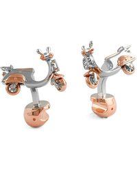 Tateossian Cufflinks On Sale In Outlet - Metallic