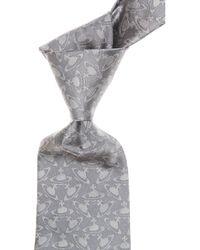 Vivienne Westwood Krawatten Günstig im Sale - Grau