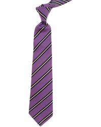 Kiton Krawatten Günstig im Sale - Lila