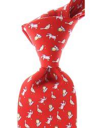 Leonard Krawatten Günstig im Sale - Rot