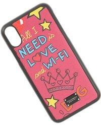 Dolce & Gabbana Fundas iPhone Baratos en Rebajas - Negro