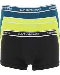 Emporio Armani Boxer Shorts für Herren - Schwarz