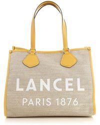 Lancel Tote Bag - Yellow