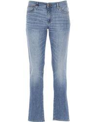 Armani Exchange Denim Jeans In Saldo - Blu