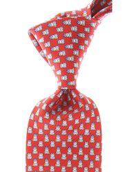 Ferragamo Corbatas Baratos en Rebajas - Rojo