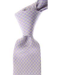 Kiton Cravates Pas cher en Soldes - Violet