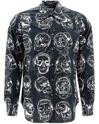 Alexander McQueen Camisa de Hombre Baratos en Rebajas - Negro