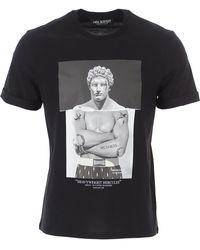Neil Barrett T-Shirt Uomo - Nero