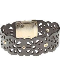Furla Bracelet For Women On Sale In Outlet - Gray