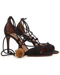 Dolce & Gabbana Sandalen für Damen Günstig im Outlet Sale - Schwarz