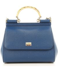 Dolce & Gabbana - Top Handle Handbag On Sale - Lyst