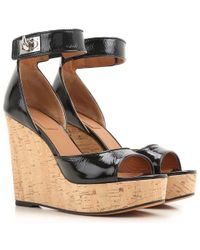 Givenchy Wedges For Women - Black