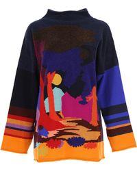 Paul Smith - Sweater For Women Jumper On Sale - Lyst