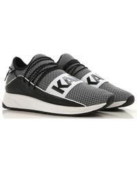 Karl Lagerfeld Men Men's Low Top Sneakers Black In For Lyst vmNn80w