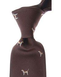 Mila Schon Krawatten Günstig im Sale - Braun