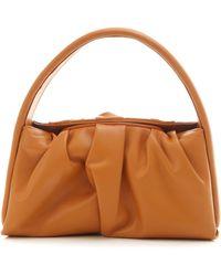 THEMOIRÈ Top Handle Handbag - Brown