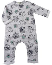 KENZO Baby Bodysuits & Onesies For Boys On Sale - Gray