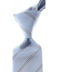 Giorgio Armani Corbatas Baratos en Rebajas - Azul