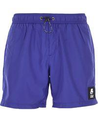 Karl Lagerfeld Swim Shorts Trunks for Men In Saldo - Blu